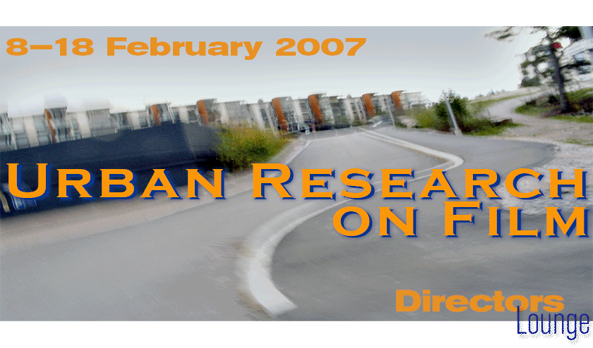 Urban Research Banner