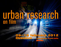 Urban Research 2012 flyer